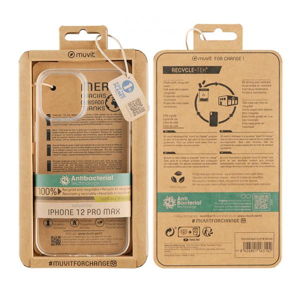 Capa Antibacteriana iPhone 12 mini