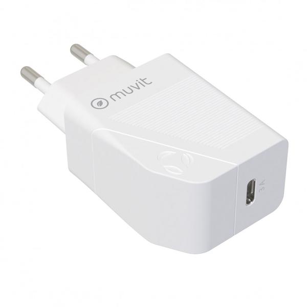 Adaptador de corrente UBS-C 20W  (Certificado Apple)
